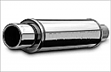 Magnaflow 14808 Street Polished Stainless Steel Muffler With Tip