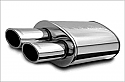 Magnaflow 14830 Street Polished Stainless Steel Muffler With Tip